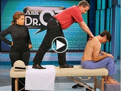 Rolfing with Dr. Oz